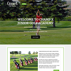 Champ X Golf Academy
